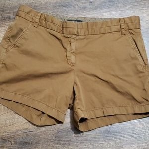 J.Crew chinos brown shorts